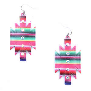Treasure Geometric Serape Earrings