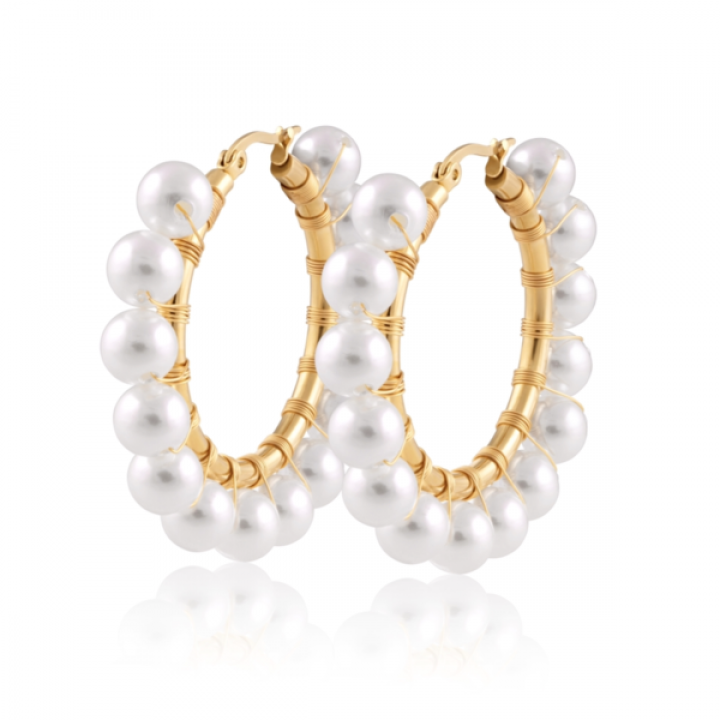 Callie Pearl Earrings