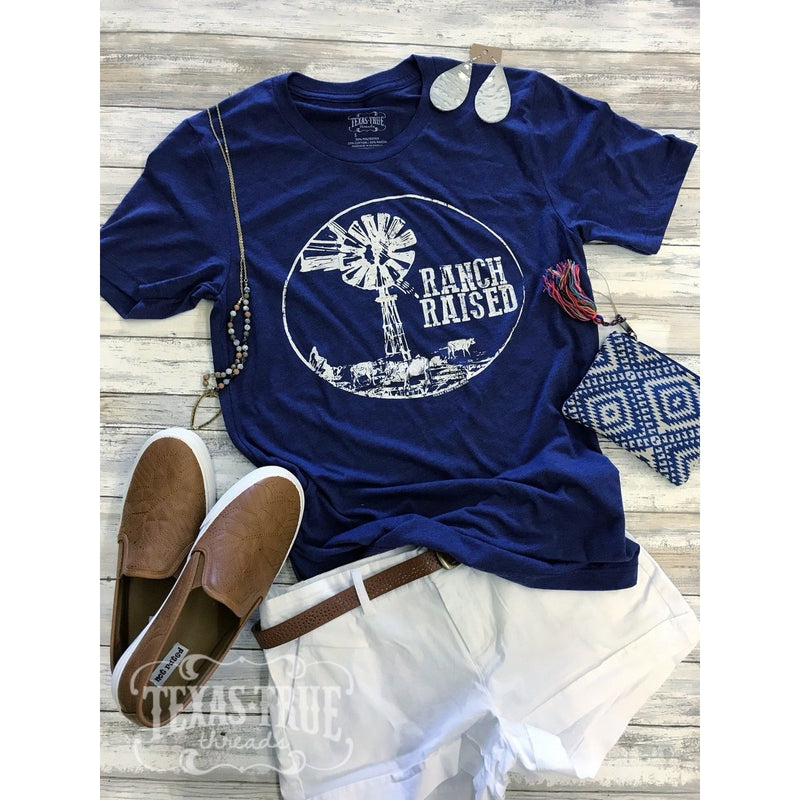 Ranch Raised Tee - Shabby 2 Chic Boutiques