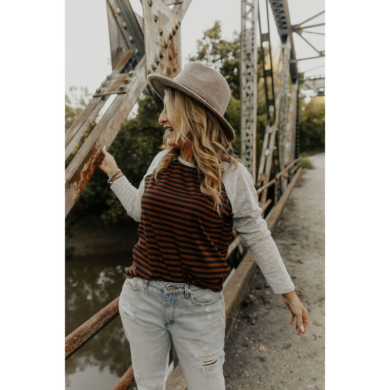 Designed To Align Striped Sweater - Shabby 2 Chic Boutiques