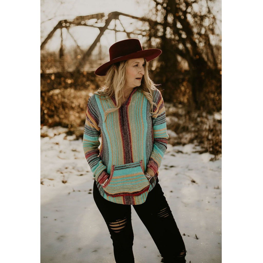 Looking for Comfort Serape Pullover - Shabby 2 Chic Boutiques