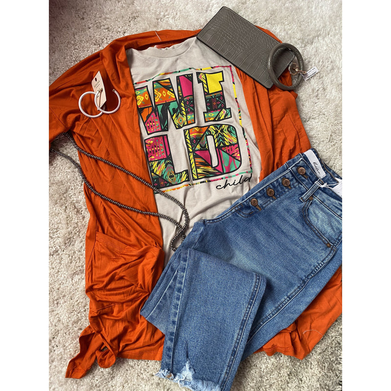 Wild Child Tee - Shabby 2 Chic Boutiques