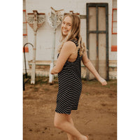 Yuma Stripe Linen Breezy Dress - Shabby 2 Chic Boutiques