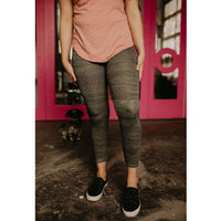 Z Supply Look At Me Now Camo Leggings - Shabby 2 Chic Boutiques