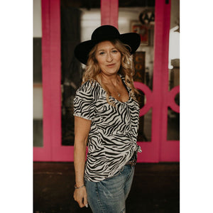 Z Supply Zebra Tee - Shabby 2 Chic Boutiques