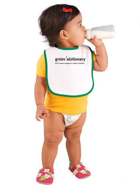 Groovalutionary Baby Bib