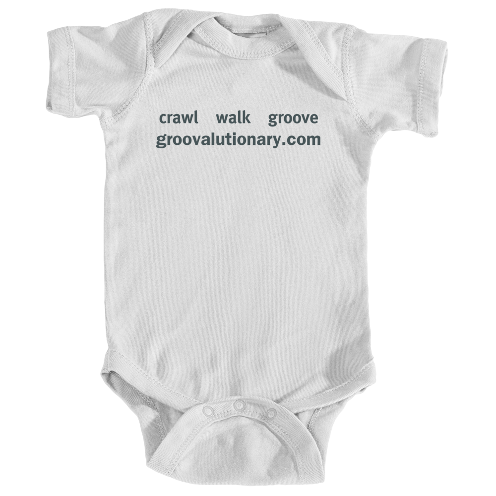 Groovalutionary Baby Onesie