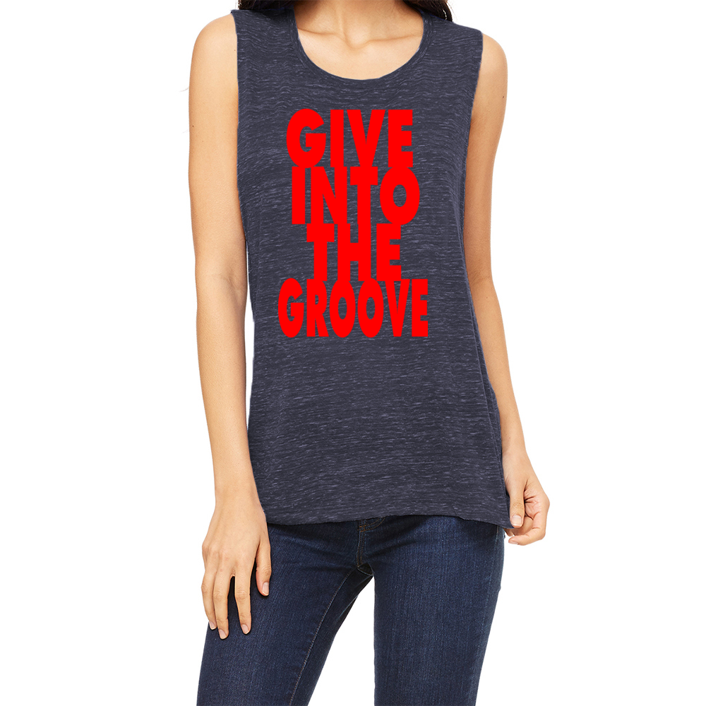 Women's Give Into The Groove Muscle Tank