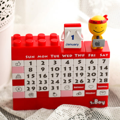 2019 DIY Building Block Calendar *Limited* New Year