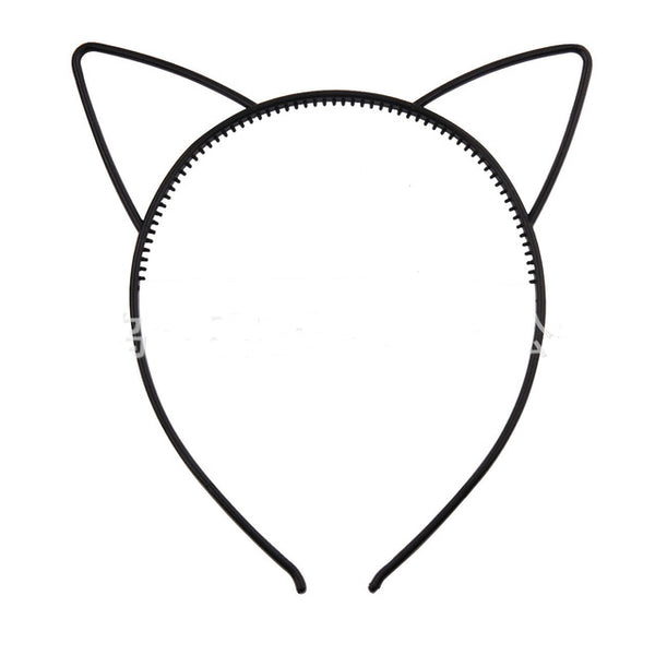 Plastic Cat Ears Hairband