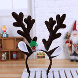 Cute Christmas Deer Antler Headband