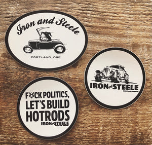 Iron and Steele Sticker Pack