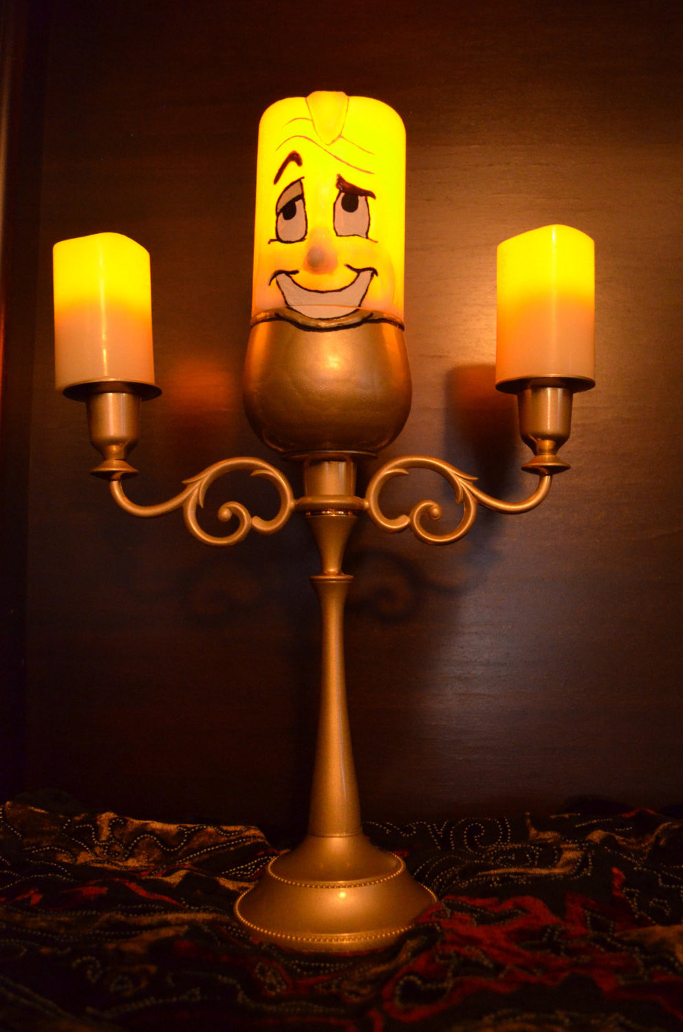 Sale Lumiere Beauty And The Beast Led Candelabra Replica Figure Lig Switzer S Sweets