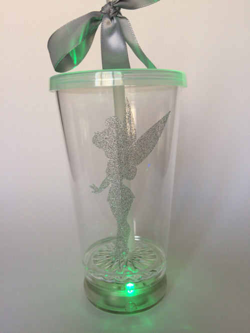 Disney princess light up tumbler bachelorette party bridesmaid gift