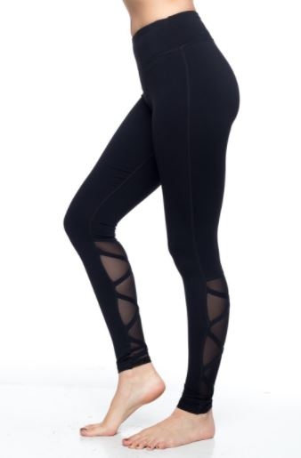 Black Ballerina Yoga Legging