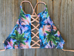 Hawaii High Neck Strappy Top