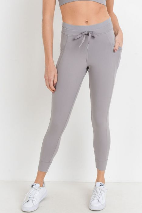 Misty Mauve Jogger Leggings