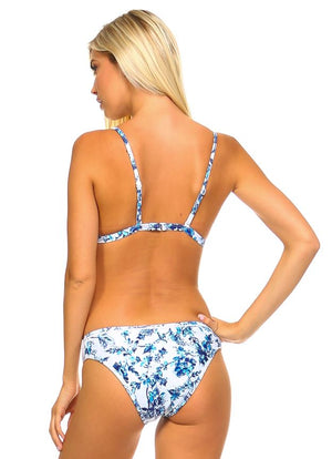 April Showers Floral Bikini