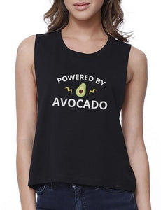 Powered By Avocado Crop Tank