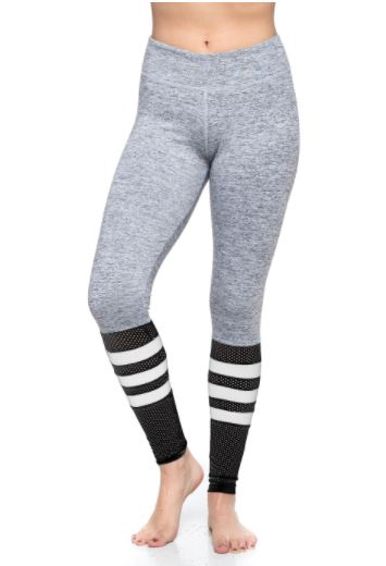 Grey Sock Yoga Legging