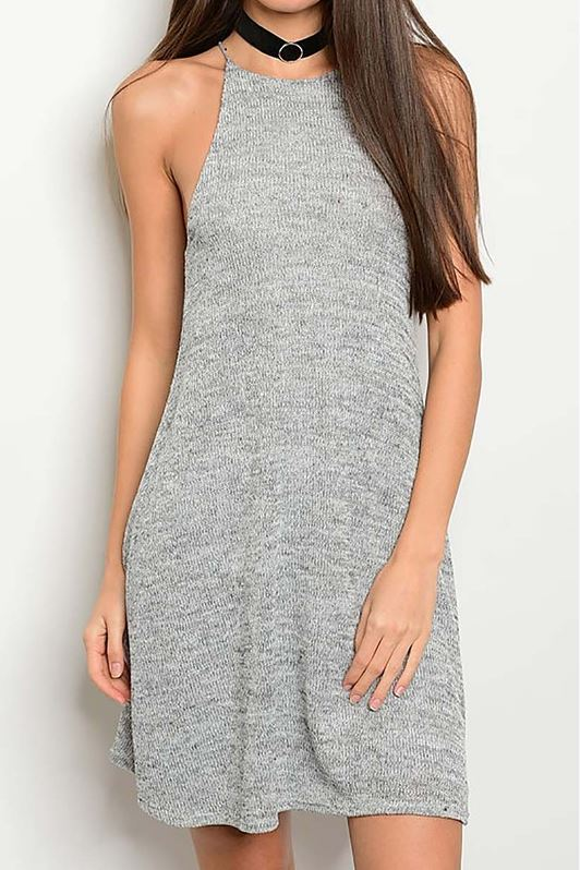 Keep It Casual Grey Dress