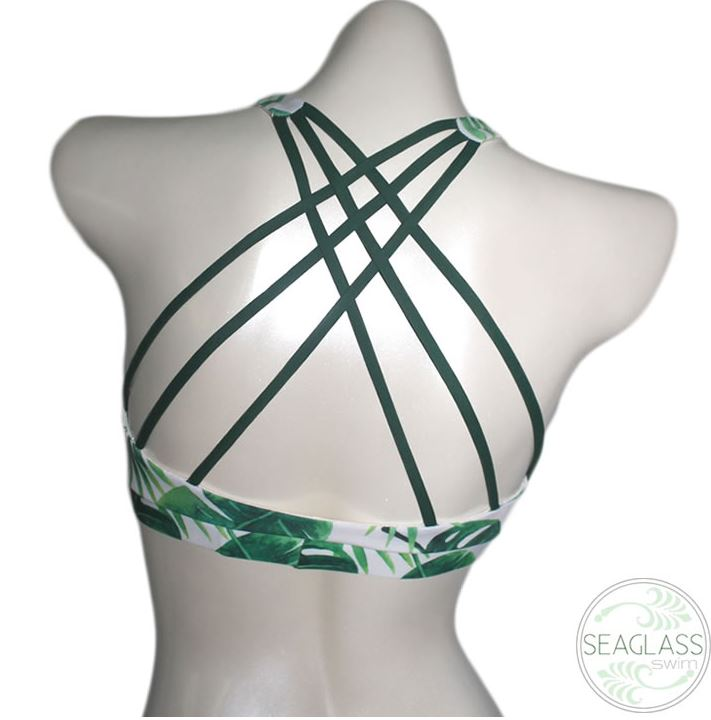 Welcome to the Jungle Strappy Bikini Top