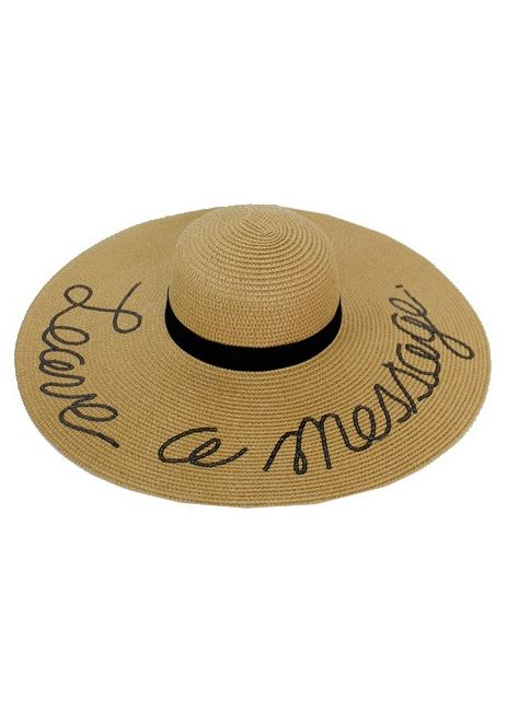 Leave a Message Floppy Sun Hat