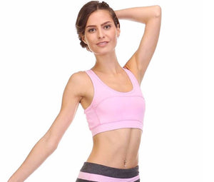 Pretty in Pink Sports Bra
