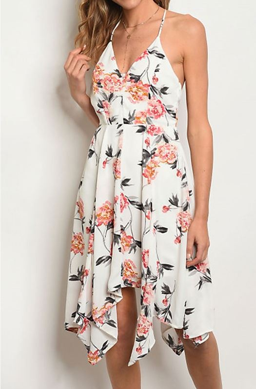 Garden Party Floral Dress