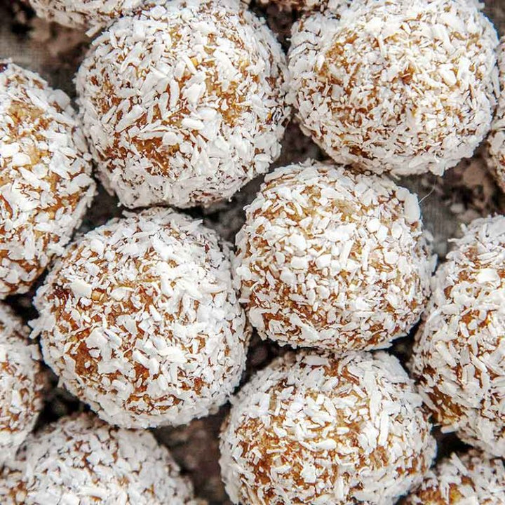 Chocolate Coconut Protein Energy Balls