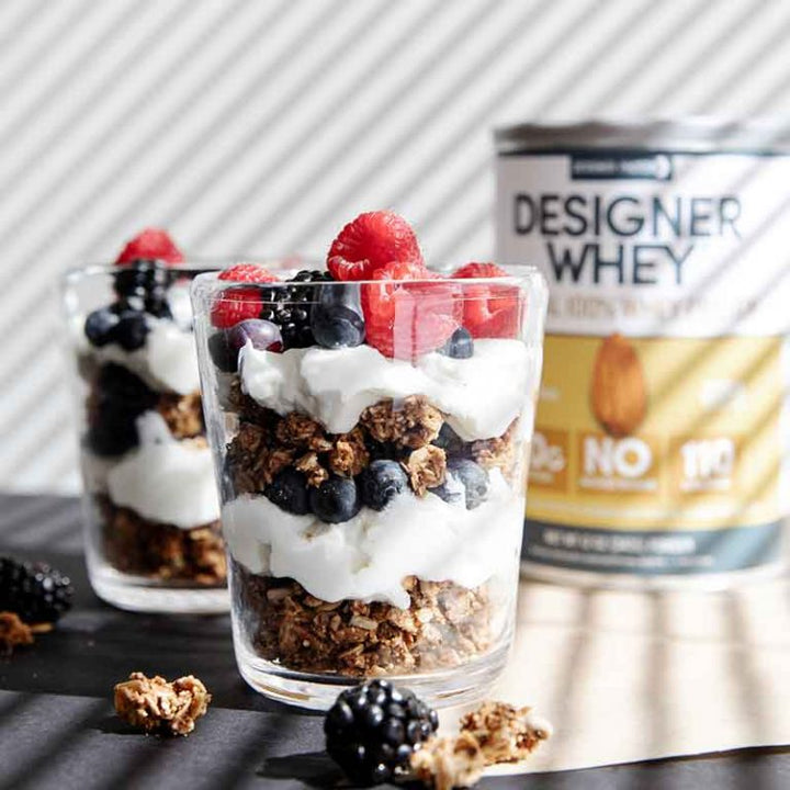 Designer Whey Yogurt Parfait