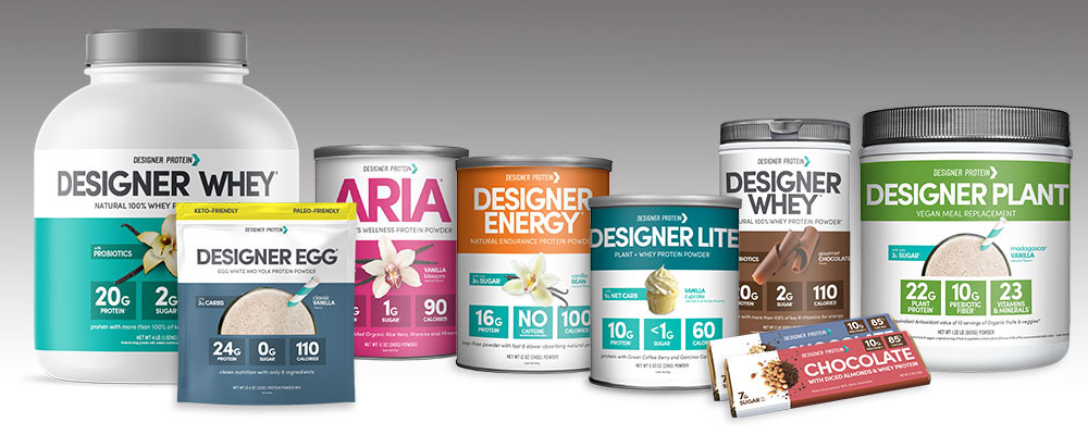 Designer Protein Product Family