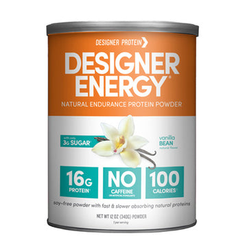 Designer Energy Endurance Protein Powder