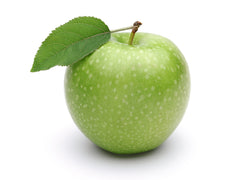 This green apple is low in sugar and a healthy source of natural energy