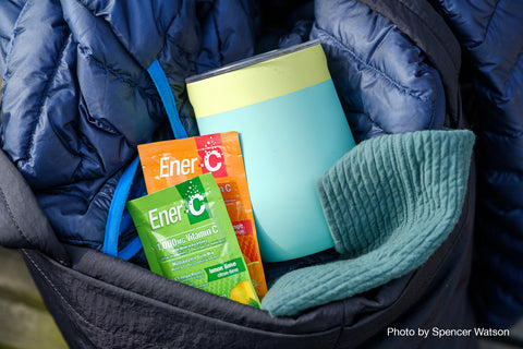 Ener-C Multivitamin is great on-the-go.