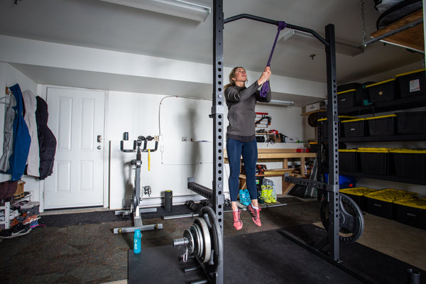 Anna Segal works out with Ener-C Sport Electrolytes