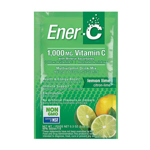 Ener-C Lemon Lime Multivitamin Drink Mix – Single Sachet