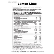 Ener-C Lemon Lime Multivitamin Drink Mix – Ingredient List