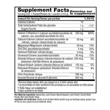 Ener-C Sport Electrolyte Mixed Berry Drink Mix – Ingredient List