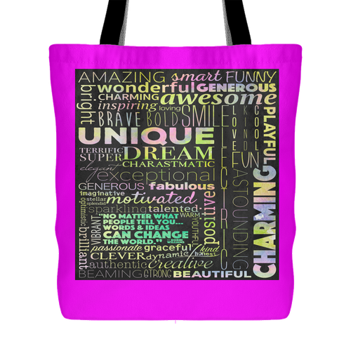 Positivity Can Change The World Tote Bag