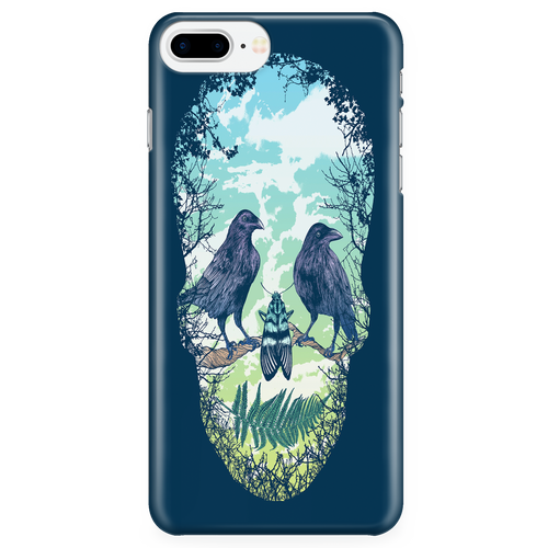 Nature Skull Phone Case