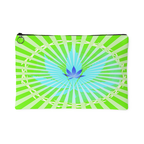 Blacklight Leaf Accessory Pouch