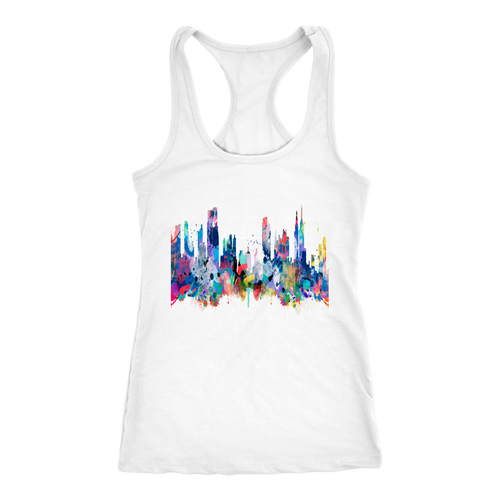 New York City Skyline Racerback Tank