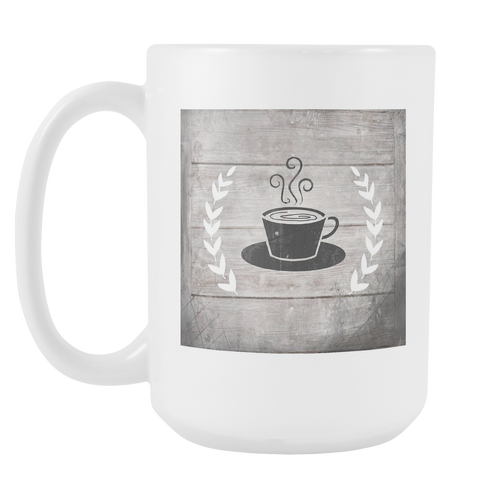 Cup Of Joe White 15oz Coffee Mug