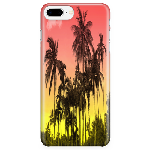Sunset Palm Phone Case