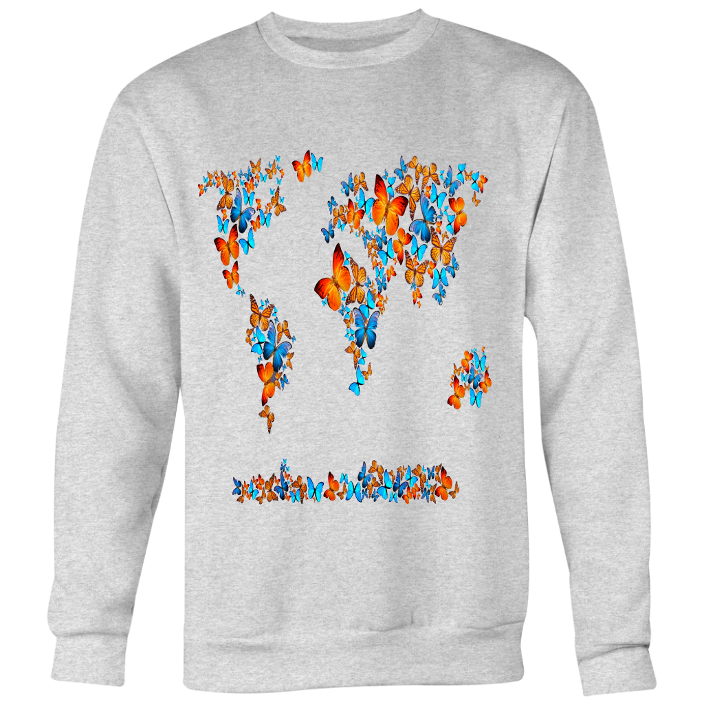 World Of Butterflies Sweatshirt