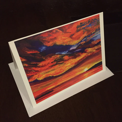 Darkness into Light - Greeting Card