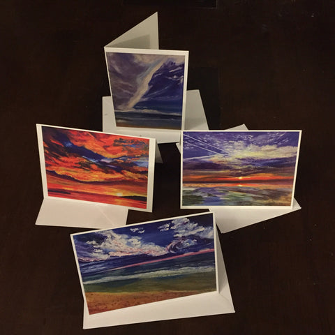 4 pack - Greeting Cards