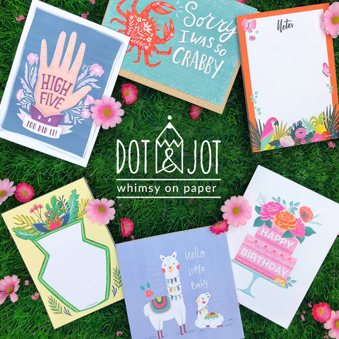 dot&Jot wholesale catalogue