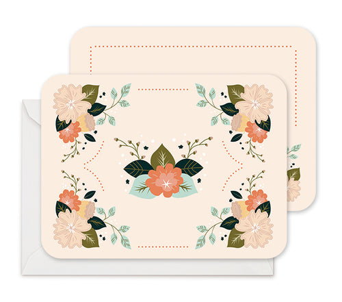 Rustic Florals - Stationery Notecards
